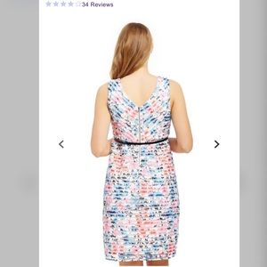 Motherhood Maternity Dresses - Maternity Dress Jacquard Lace Floral size Medium